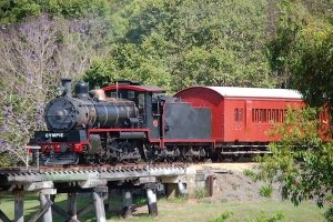 Accessible Steam Train on Mary Valley Rattler